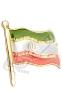 نشان سینه فلزی پرچم ایران