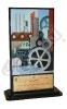 تندیس ششمین نمایشگاه بین المللی صنعت، صنایع کارگاهی، ماشین آلات و تجهیزات وابسته - اصفهان - 1390