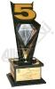 تندیس پنجمین نمایشگاه فلزات گرانبها، طلا، جواهر، سنگهای قیمتی، نقره، ساعت، ماشین آلات وتجهیزات وابسته- اصفهان- 1390