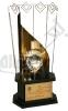 تندیس ششمین نمایشگاه بین المللی فلزات گرانبها، طلا، جواهر، سنگ های قیمتی، نقره، ساعت، ماشین آلات و تجهیزات وابسته - اصفهان - 1391