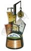تندیس پنجمین نمایشگاه بین المللی مصالح و تکنولوژی ساختمان و پنجمین نمایشگاه اختصاصی آسانسور، بالابر، صنایع و تجهیزات وابسته - اصفهان - 1391