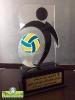 تندیس ششمین دوره مسابقات والیبال بانوان کلان شهرهای کشور - شهرداری اصفهان