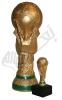 تندیس حجمی : جام جهانی فوتبال - در دو اندازه