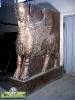 تندیس و مجسمه شهری شیر بالدار ایستاده باستانی - 2 متری