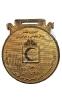 مدال فلزی جشنواره تکامل - مدال پهلوانی و جوانمردی - جمعیت هلال احمر