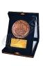 مدال فلزی با جعبه جیر - شرکت بهتاش سپاهان
