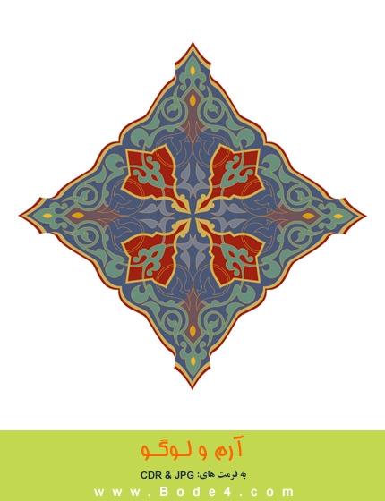 طرح نقوش اسلیمی - شماره: 116