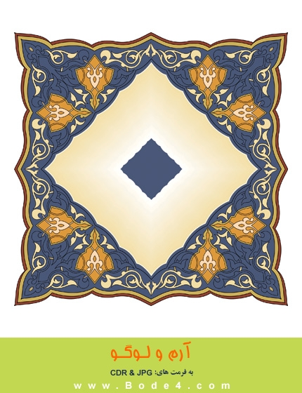 طرح نقوش اسلیمی - شماره: 121