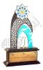 تندیس هشتمین نمایشگاه قرآن و علوم قرآنی اصفهان - 1390