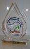تندیس ویژه اولین صادرات ماهی قزل آلای منجمد از ایران به روسیه - شرکت قزل پروتئین سامی غرب
