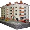 برش ليزري قطعات انواع ماکت های ساختمانی