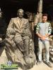 تندیس و مجسمه شهری استاد شهریار - 2 متری