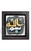 کتیبه سفالی - بسم الله - سایز: 17*17