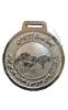 مدال فلزی یادبود جام 22 بهمن - شرکت انبارهای عمومی و خدمات گمرکی ایران