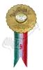 مدال فلزی بهره ور نمونه - مجتمع فولاد مبارکه