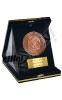 مدال فلزی با جعبه جیر - جشن تقدیر از دانشجویان ممتاز - شرکت  نیروکلر